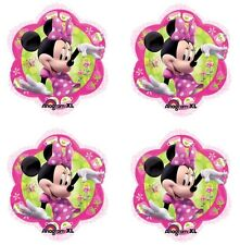 "4x Disney Minnie Mouse Birthday Party Supplies 18"" inch Foil Mylar Balloon"