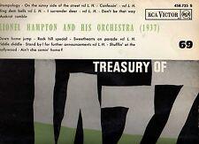 Lionel Hampton Treasury of Jazz N° 69 Fr VG++/VG++ RCA Victor 430.725 S