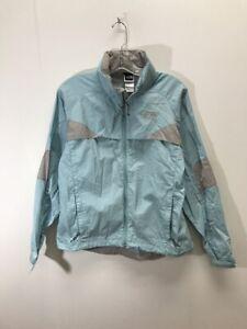 de00acf11 The North Face Light Windbreaker Jacket Womens Size Medium Baby Blue ...
