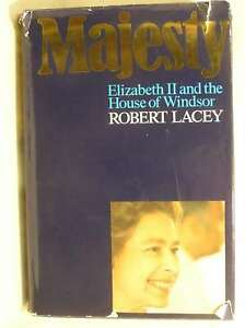 MAJESTY ELIZABETH II AND THE HOUSE OF WINDSOR ROBERT LACEY Very Good Book - Dundee, United Kingdom - MAJESTY ELIZABETH II AND THE HOUSE OF WINDSOR ROBERT LACEY Very Good Book - Dundee, United Kingdom
