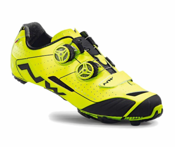 Schuhe Ciclismo MTB - NORTHWAVE EXTREME XC - Misura 43 Fluo - Giallo Fluo 43 c8dde2