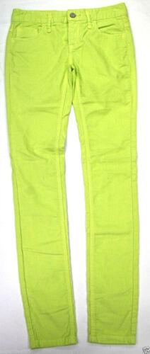 Free People 5 Pocket Skinny Corduroy Light  Lime Free People Cords Skinny