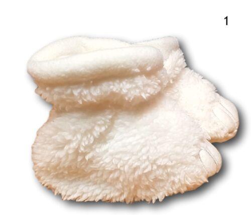 6-12 M Pour bébé garçons filles en polaire chaude Pantoufles Chaussons Dino Taille 0-6 m