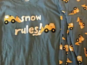 NWT Gymboree Fair Isle Holiday Bear Snowflake Gymmies Sleep Set Pajamas Boys 10