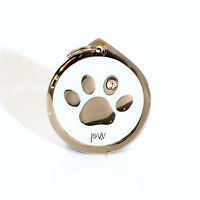 Pet Identity Tag, Quality PAW Design ID Disc Free Delivery, Engraving Option