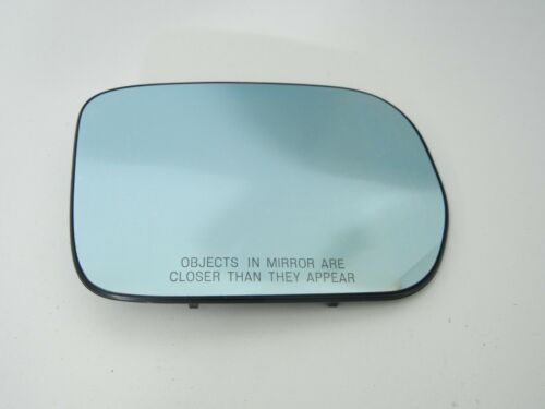 Acura MDX right passenger side heated door mirror glass blue 02 03 04 05 06