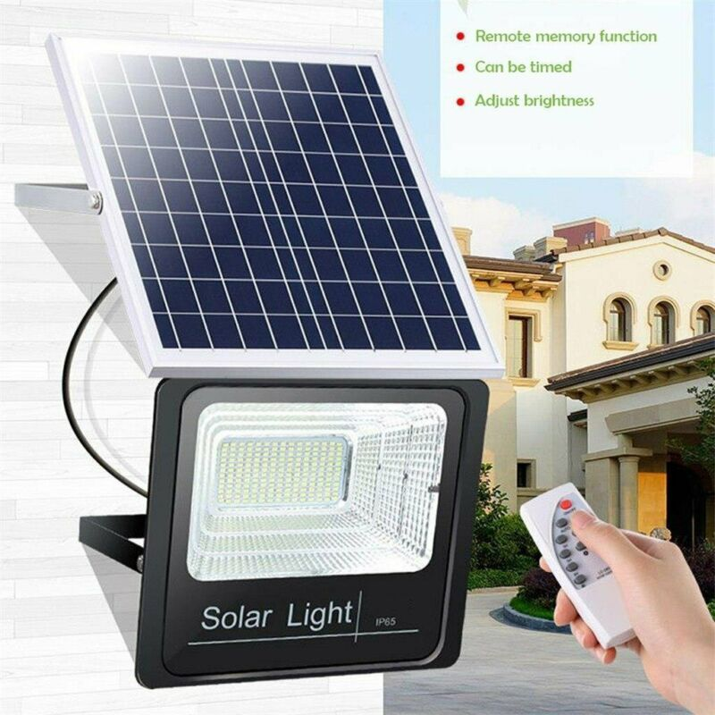 Solar Floodlight 50W waterproof Lighting System with remote control  - IP67