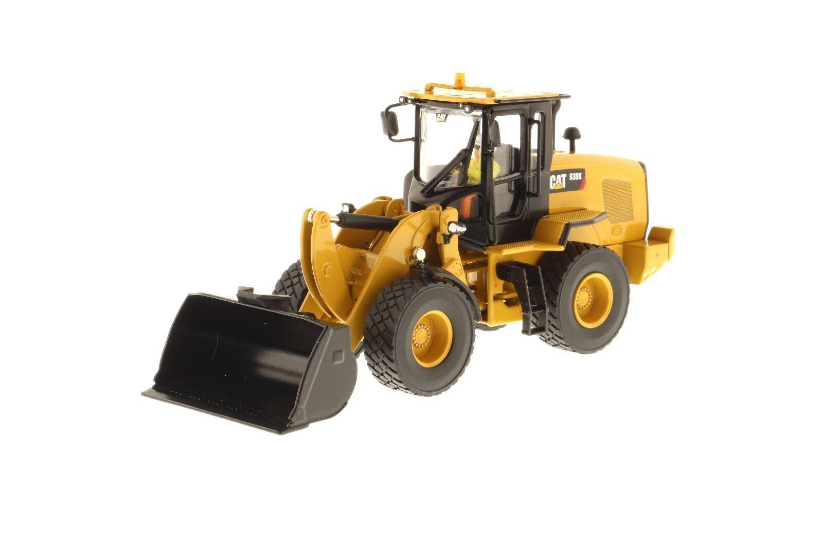 Caterpillar® 1 50 scale Cat 938K Wheel Loader - Diecast Masters 85228