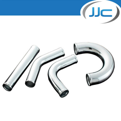 JJC Pack of 2 Aluminium Air//Coolant//Intercooler Pipes 45 deg Bend 89mm OD
