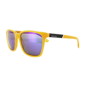 f29767a40 Image is loading Diesel-Sunglasses-DL0122-42X-Shiny-Orange-Blue-Mirror