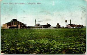 Coffeyville,Kansas,Ozark Zinc Oxide Smelter,Montgomery