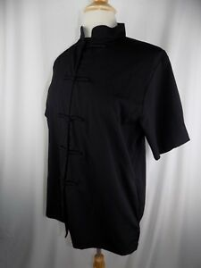 Spa uniforms wear black beauty salon massage therapist for Spa uniform ebay