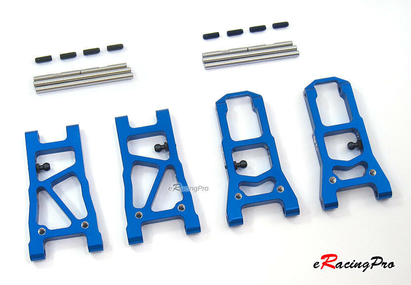 Alloy Front+Rear Lower Arms for Tamiya TA06