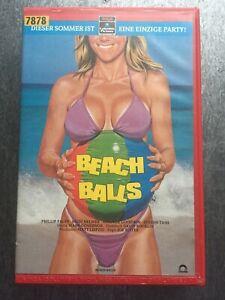 BEACH-BALLS-RCA-Columbia-VHS-Kassette-Rar