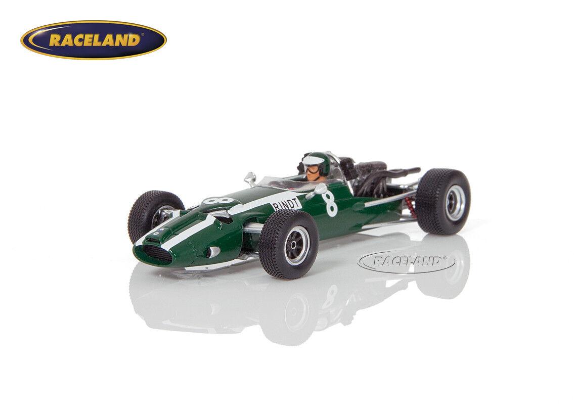 Cooper t81 Maserati v12 f1 3 ° GP ALLEMAGNE 1966 Jochen Rindt, SPARK 1 43 s5291