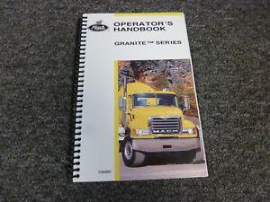 manual mack granite cv713