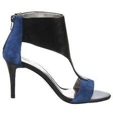Carlos Santana Dorado Dress Heels/Pump - Two-tone (Black with Blue Suede) -Sz 10