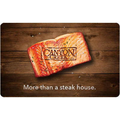 Canyon Creek Gift Card $25, $50, or $100 - Fast email delivery