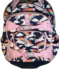 Pottery Barn Kids Sola Girl S Pink Amp Blue Rainbow Unicorn