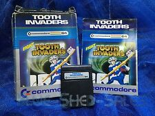 Tooth Invaders cartridge for the commodore 64 / C64 (IN BOX)