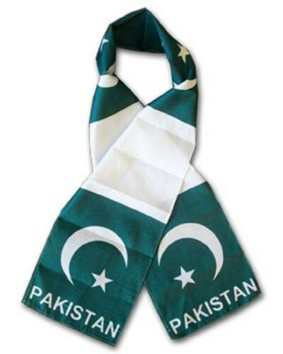 "Wholesale Combo Set Pakistan Country 3x5 3'x5' Flag and 8/""x60/"" Scarf"