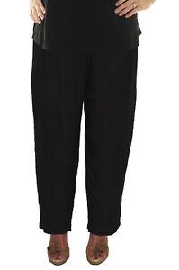 4x Pantalone 6x 1x 1x donna Webebop di stretta stropicciato 5x 3x scuro nero 2x piega per 1FAnUOxw1