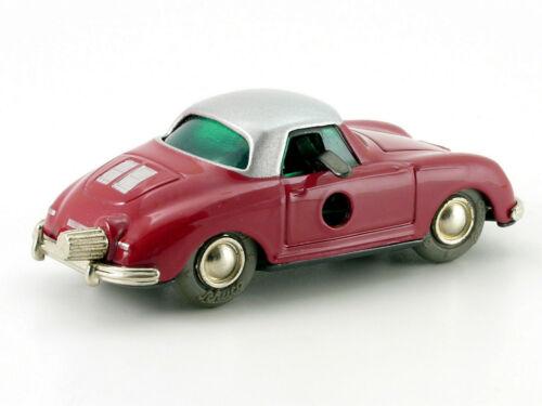 Schuco Micro-Racer Porsche 356 rot-silber # 120