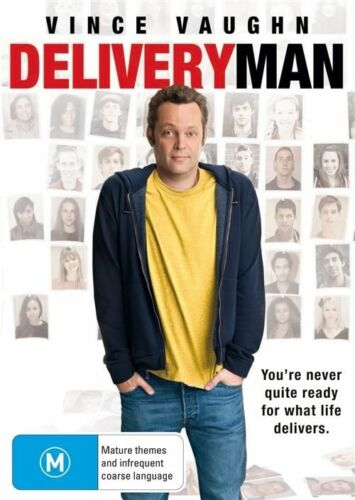 1 of 1 - Delivery Man (2013) Vince Vaughn - NEW DVD - Region 4