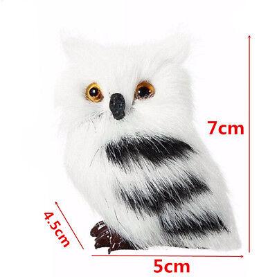 1/2pcs Furry Squirrel/Owl Ornament Decor Adornment Christmas Tree Hanging Gift