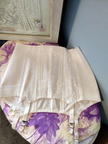 "Vintage Girdle Garter Belt - Sears - 34"" waist Lar"
