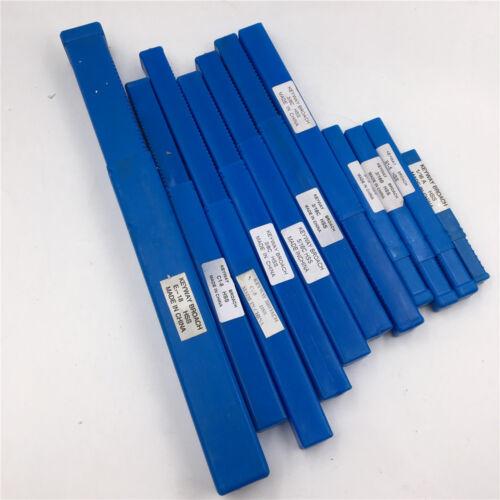 Keyway Broach Metric//Inch Size Push Type 3//4//5//6//8//10//12//14//16//18mm HSS Cutter