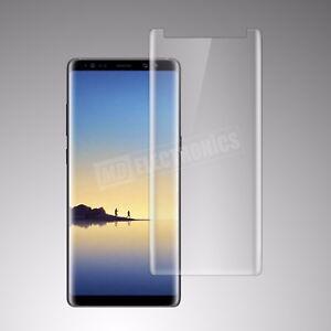 Samsung-Galaxy-Note-8-CASE-FRIENDLY-3D-Clair-Protection-D-039-ecran-Verre-Trempe