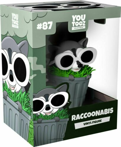 IN HAND SHIPS TODAY Raccoonabis Youtooz Figure #87 LE2000 RacoonEggs Colab
