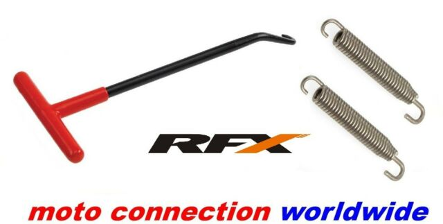 RFX EXHAUST STAINLESS 75mm SPRINGS &  PULLER YAMAHA YZ125 YZ250 2008