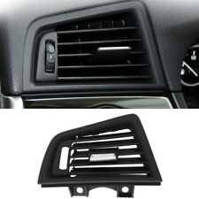 Grebest Car Air Vent Grille Cover Car Interior Parts Grille Cover Car Air Conditional Left Outlet Vent Panel Grille Cover for BMW 5 Series F10 F18 Black-Silver