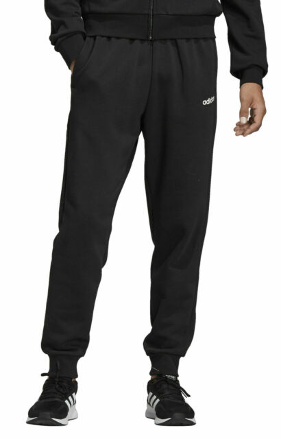 adidas Core Herren Trainingshose Essentials Plain Tapered Pant Cuffed schwarz