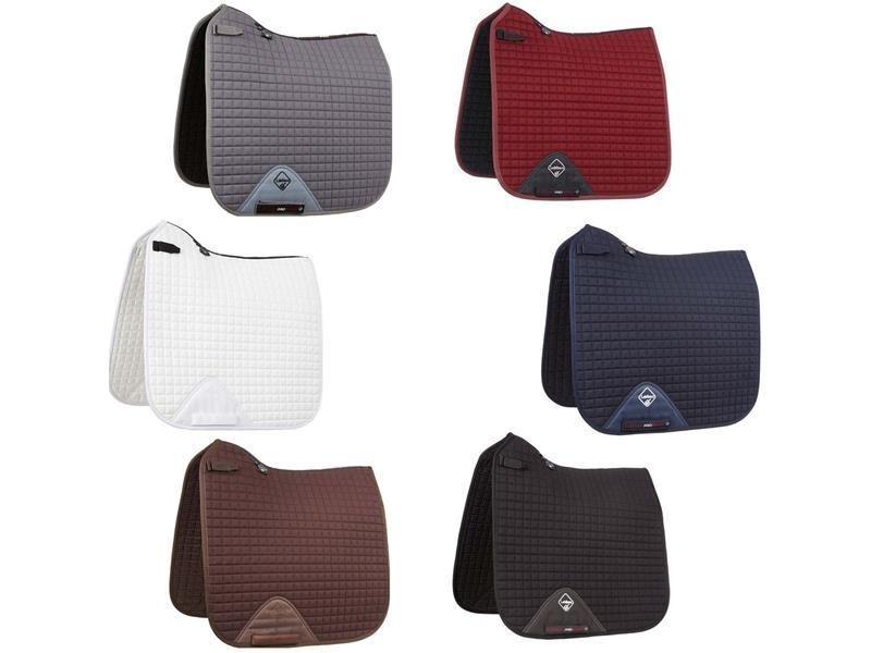 Le Mieux ProSport Dressage Squares (Short Straps) -  small medium - Grey - BN