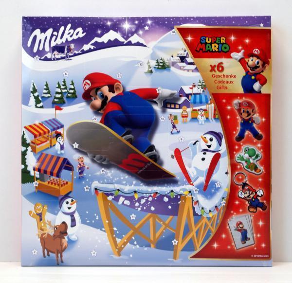 Milka Super Mario 2018 Adventskalender- für Jungs