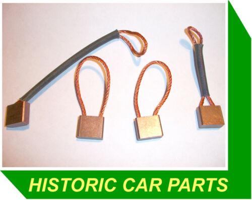Cepillos para motor de arranque Starter en MG1300 mg 1300 1275cc 1967-71 reemplazar Lucas 251108