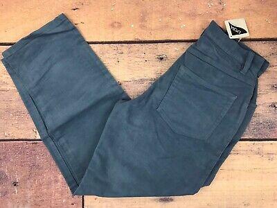 LLW157 NEW LL BEAN Pleated Blue Cotton Blend Dress Pants Women/'s Size 4 Petite