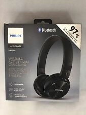 Philips Wireless Active Noise Canceling Headphones SHB8750NC Black OPEN BOX