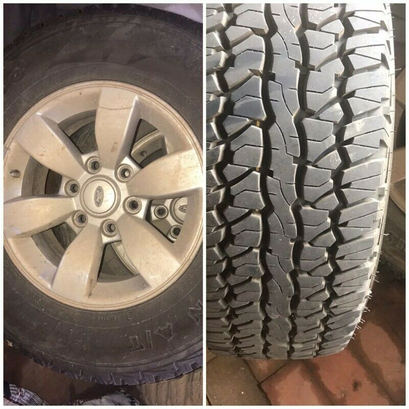 Original Ford Ranger 2008 Tyres and Rims