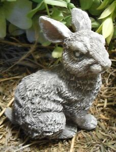 Latex only rabbit feet down mold plaster concrete casting garden mould