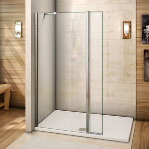Walk In Shower With Flipper Panel.Details About 700mm Height Nano Glass Walk In Shower Enclosure Wet Room Screen Flipper Panel