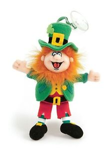 """Finnegan King of the Leprechauns - 6"""" high with suction"""