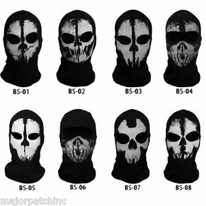 Image is loading COD-CALL-OF-DUTY-GHOST-RECON-FULL-SKI-  sc 1 st  eBay & COD CALL OF DUTY GHOST RECON FULL SKI FACE MASK BALACLAVA SNOWBOARD ...