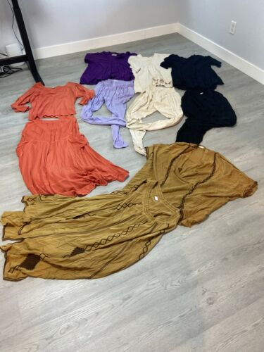 Vintage Laise Adzer Boho Chic Outfits Lot #913