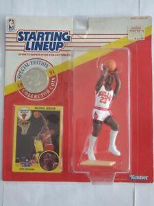 1991 Michael Jordan Starting Lineup w/ Collector Coin (Shooting Position) Rare!
