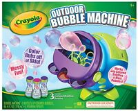 Crayola Colored Bubbles Machine , New, Free Shipping on sale