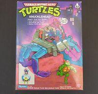 TMNT VINTAGE 1989 TURTLES KNUCKLEHEAD ; NEVER OUT OF BOX